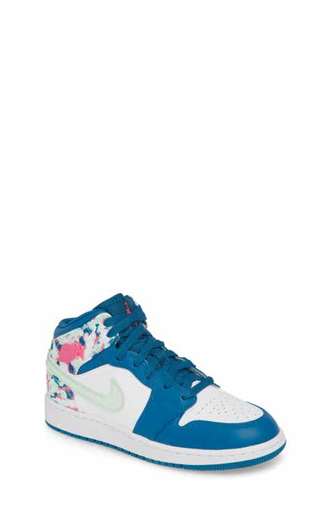 reputable site 67e10 12aa4 Nike  Air Jordan 1 Mid  Sneaker (Big Kid)