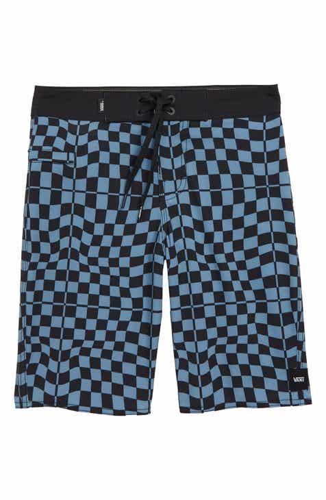 Vans Mixed Check Board Shorts (Big Boys) 97a7651354