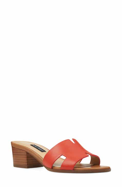 21d90ae2c3f Nine West Aubrey Cutout Slide Sandal (Women)