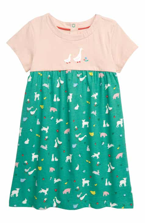 2eb8c2b5e62bd Mini Boden Animal Friends Jersey Dress (Baby & Toddler Girls)
