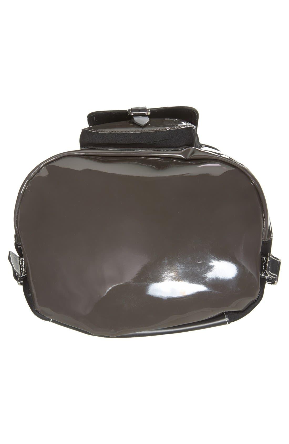 Alternate Image 6  - Harper Ave 'Philip' Neoprene & Faux Patent Leather Backpack