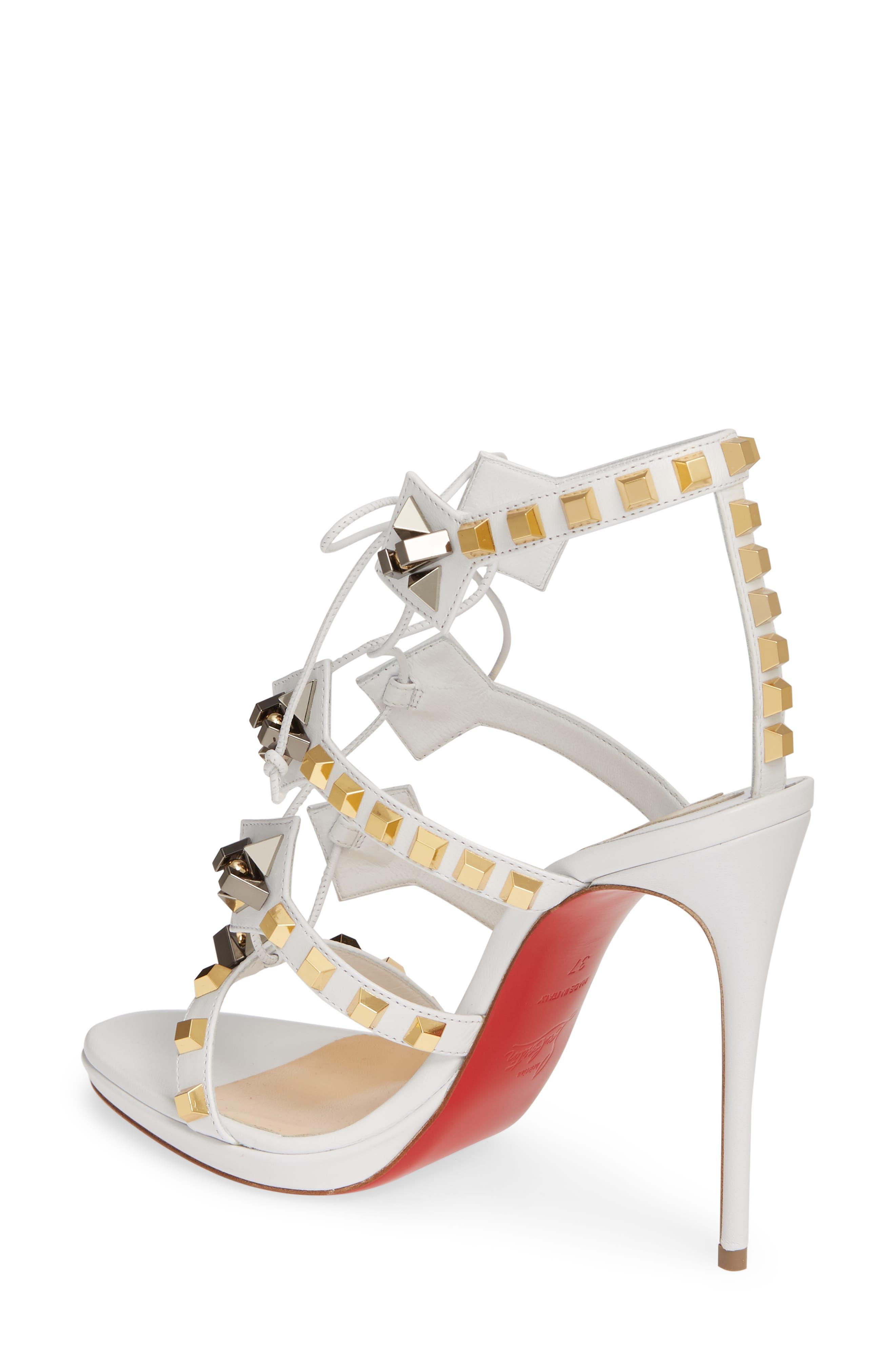 9ed90084c0d Christian Louboutin Women s Gladiator Shoes