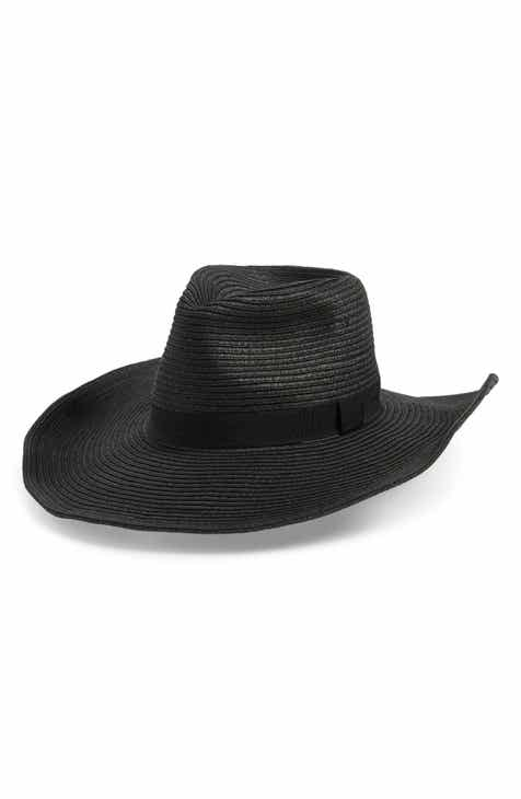 58063ac588029 Sole Society Wide Brim Straw Hat