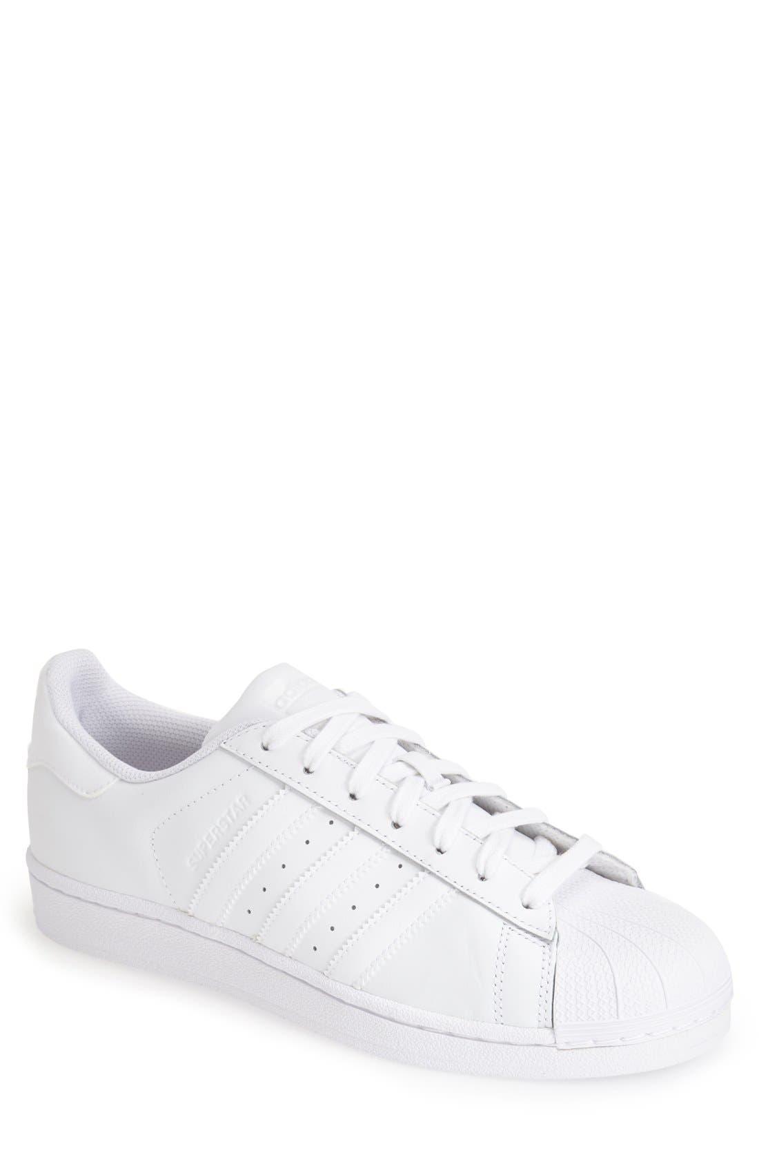 Alternate Image 1 Selected - adidas Superstar Foundation Sneaker