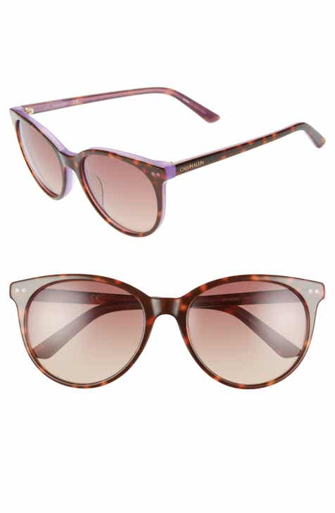 ee42dbff0cc Calvin Klein 55mm Cat Eye Sunglasses