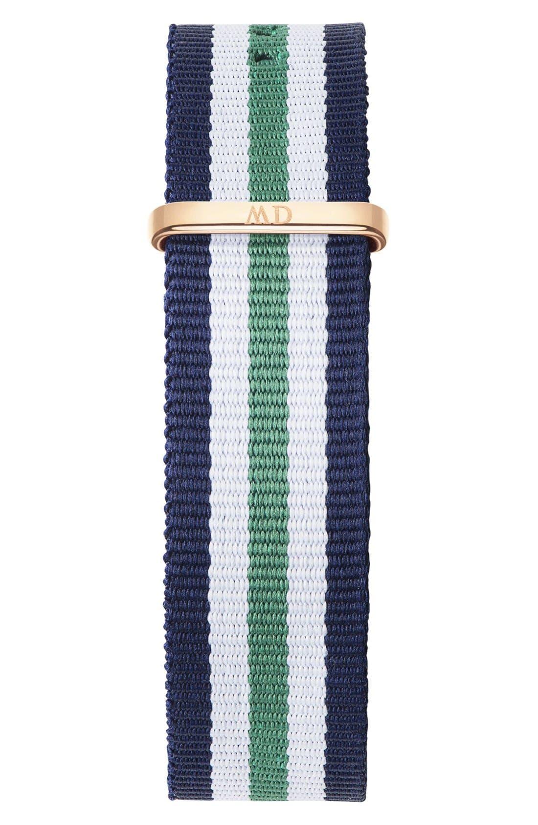 Alternate Image 2  - Daniel Wellington 'Classic Nottingham' NATO Strap Watch, 40mm
