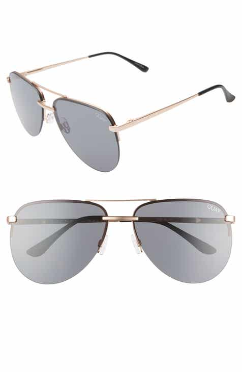 3b1fdcc6010 Quay Australia x JLO The Playa 54mm Aviator Sunglasses