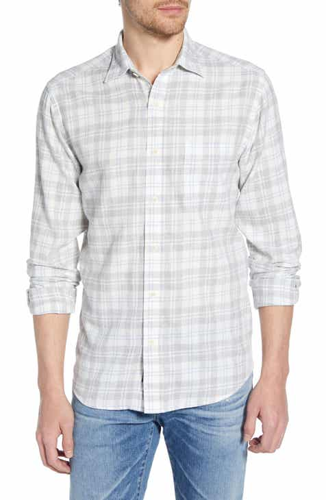 fa37ba9f Faherty Everyday Regular Fit Plaid Sport Shirt