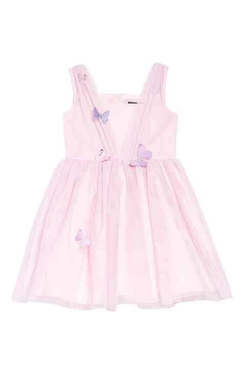 99ced4b387d Ava   Yelly Butterfly Mesh Dress (Toddler Girls   Little Girls)
