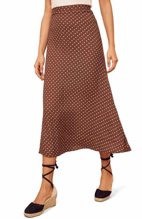 3c5d5065a8e85 Reformation Bea Midi Skirt (Regular   Plus Size)