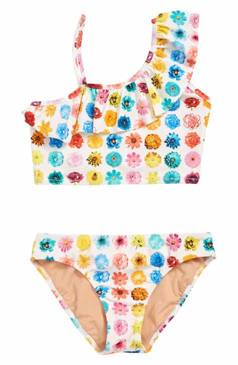 77b29156cdbe9 crewcuts by J.Crew Ruffle Two-Piece Bikini Swimsuit (Toddler Girls, Little  Girls & Big Girls)