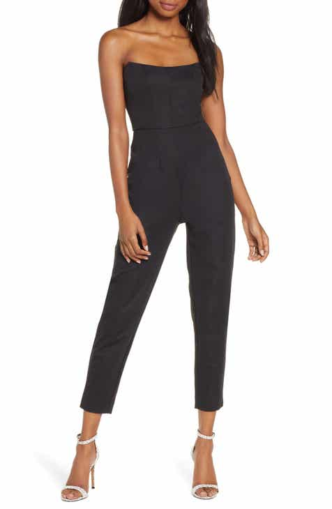 Finder Keepers Naomi Strapless Jumpsuit