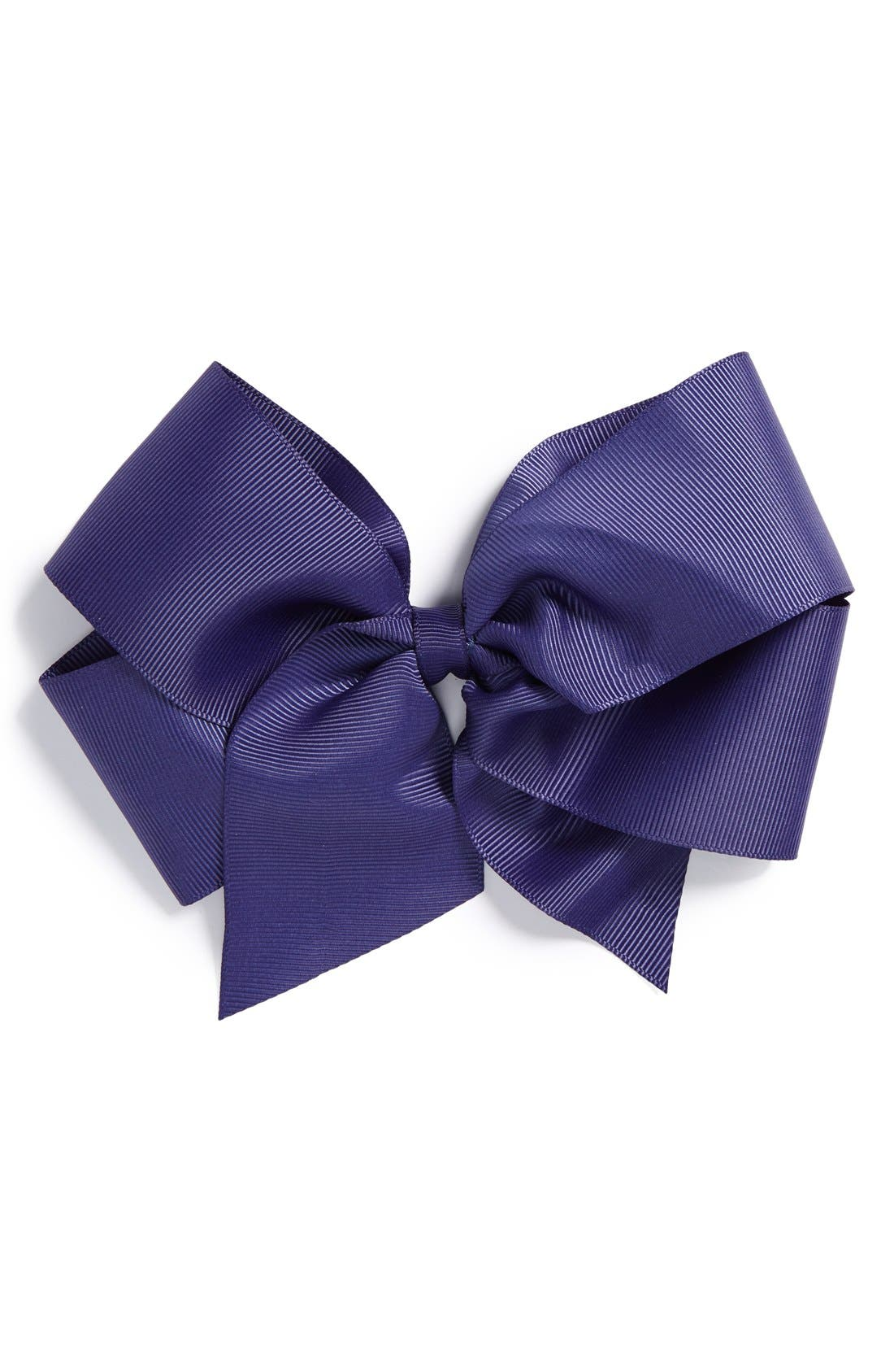 Alternate Image 1 Selected - PLH Bows & Laces Grosgrain Bow Clip (Baby Girls & Toddler Girls)