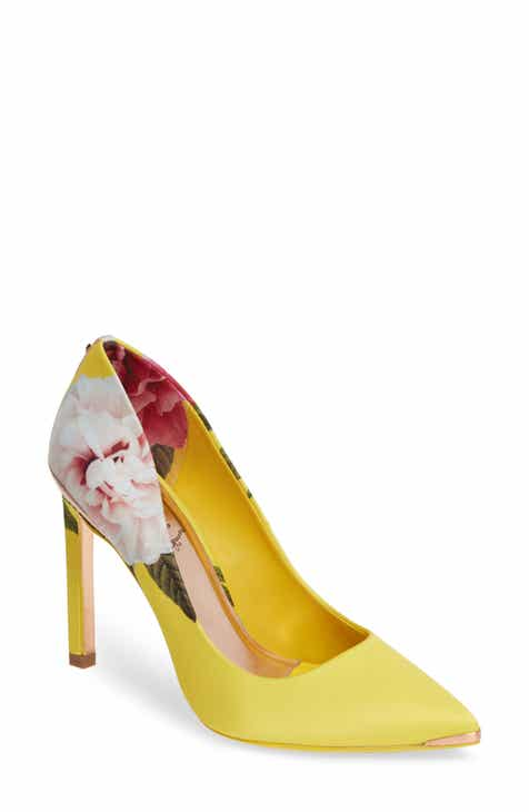 b174493f7240 Ted Baker London Melnip Floral Print Pump (Women)