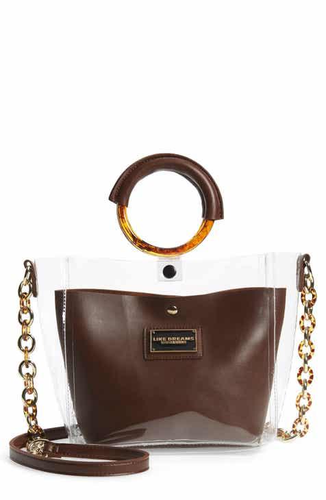 869b7dd5f3a9 Like Dreams Transparent Shoulder Bag