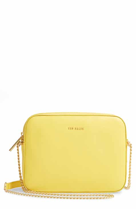 877f6f9b4e8 Ted Baker London Judithh Bow Detail Leather Crossbody Bag
