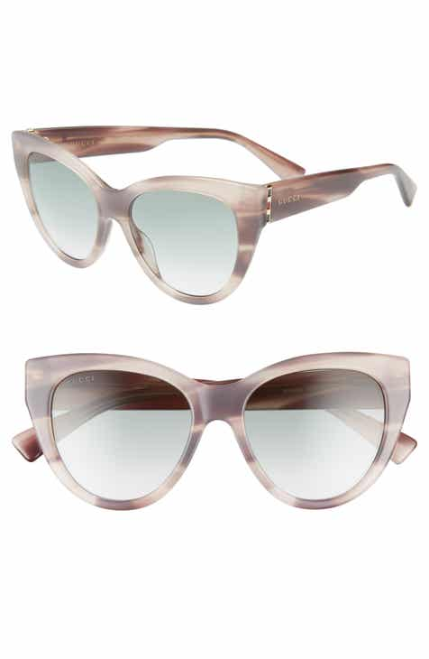 286b2827192 Gucci 53mm Gradient Cat Eye Sunglasses