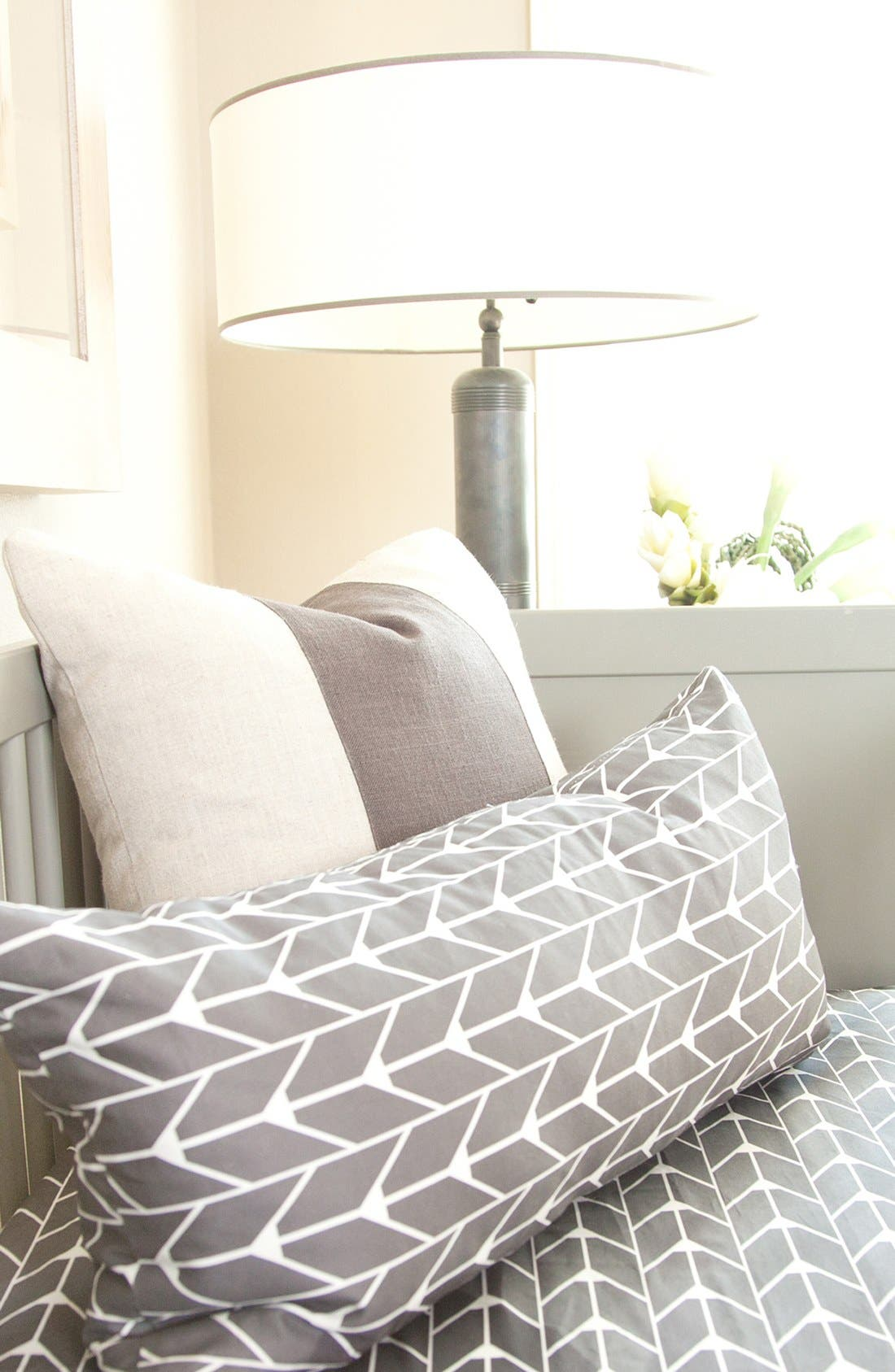 Alternate Image 2  - Oilo Sateen Fitted Crib Sheet