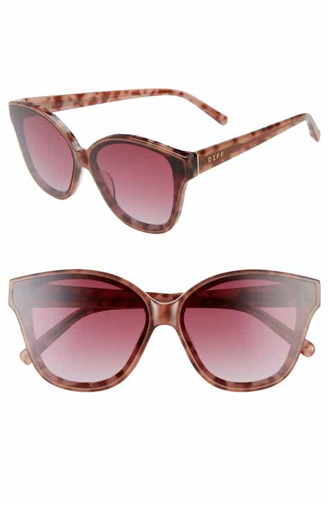 0c85d0443e814 DIFF Piper 64mm Oversize Cat Eye Sunglasses