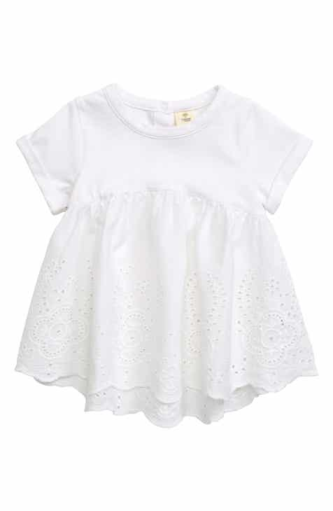 2a0bfa46bdb Tucker + Tate Eyelet Embroidered Top (Baby Girls)