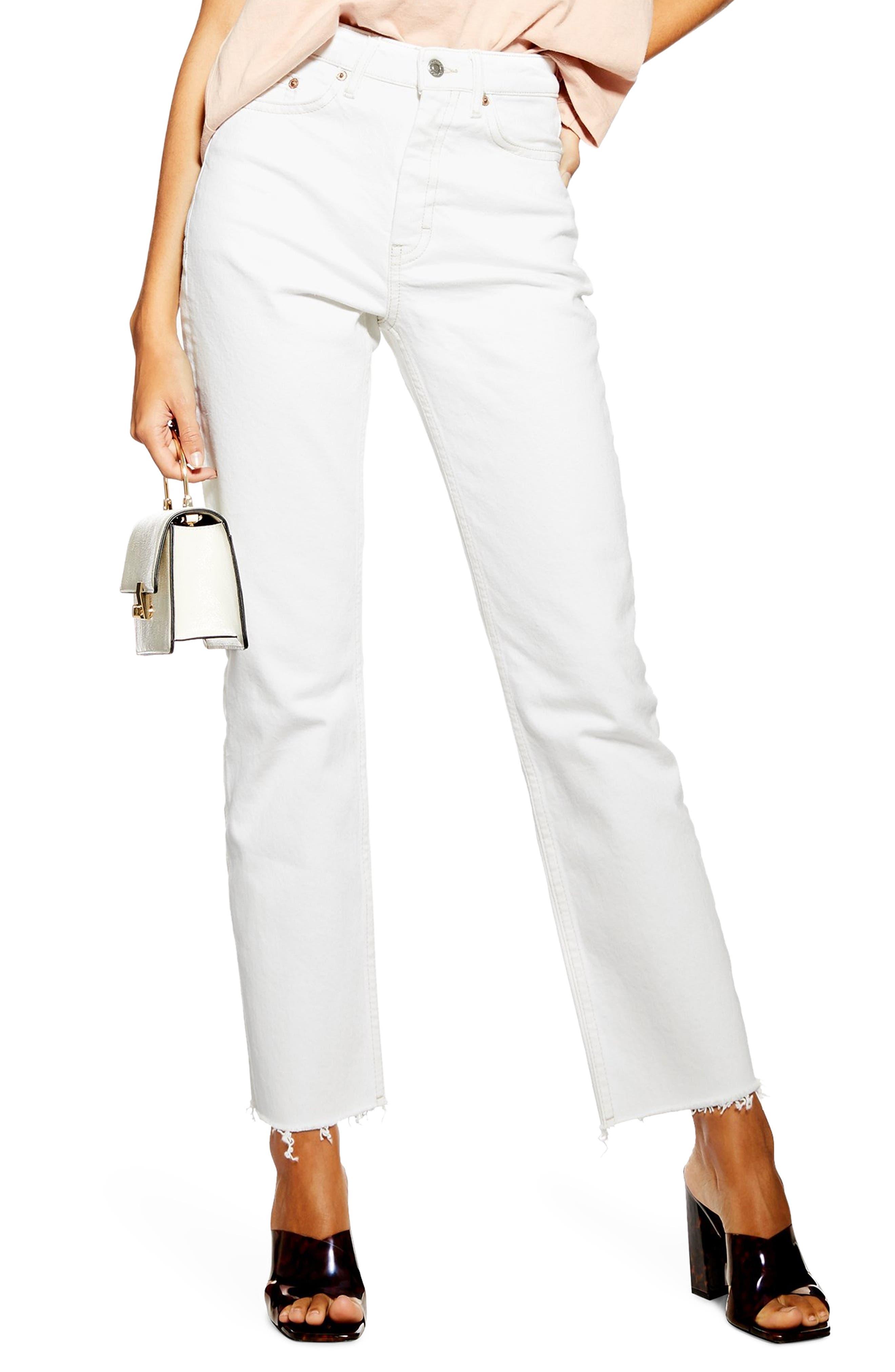 Topshop Straight Leg Jeans Coupon