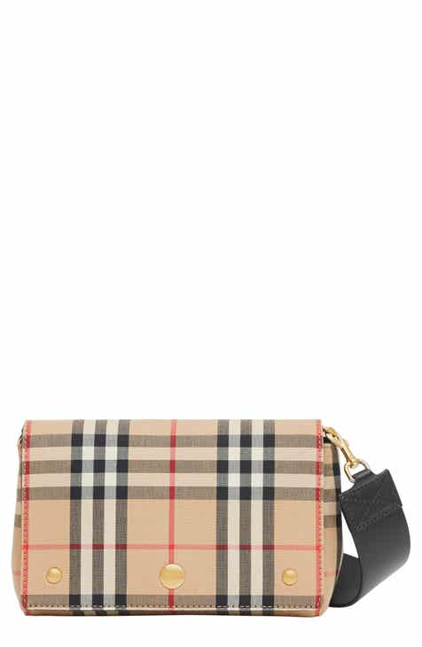 6c7e4f7067b28a Burberry Hackberry Vintage Check Crossbody Bag