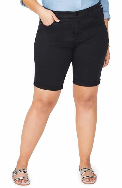 NYDJ Briella Roll Cuff Bermuda Shorts (Regular, Petite & Plus Size) by NYDJ