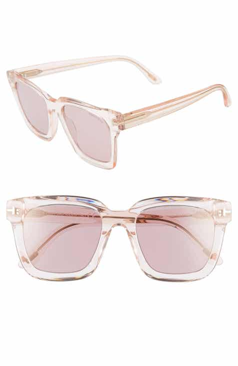 14d3084244 Tom Ford Sari 52mm Square Sunglasses.  395.00. Product Image. PINK ...