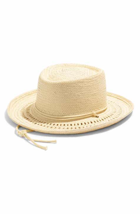 10735ad00862eb Madewell x Biltmore® Curved Brim Straw Hat