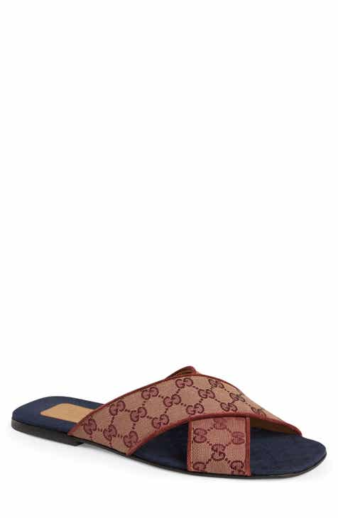 5010ed2fd Gucci Senior GG Canvas Slide Sandal (Men)