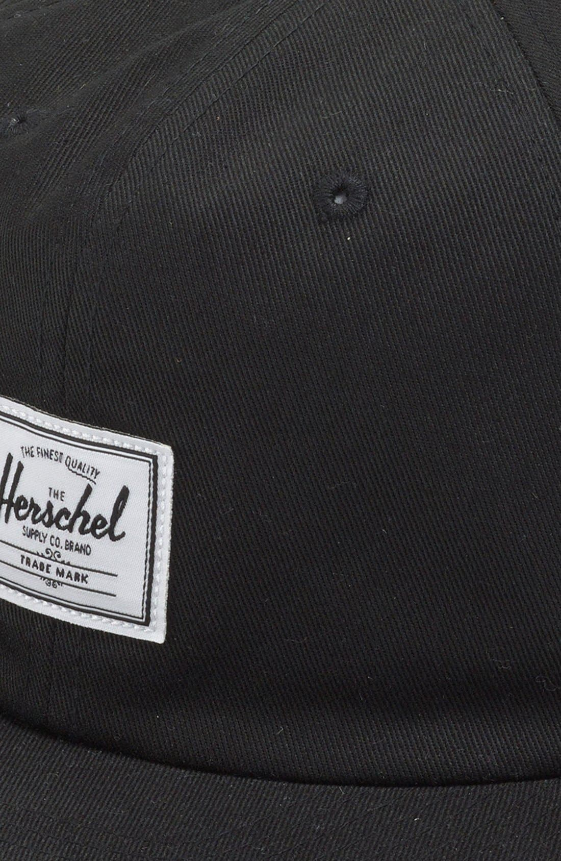 'Albert' Ball Cap,                             Alternate thumbnail 2, color,                             Black