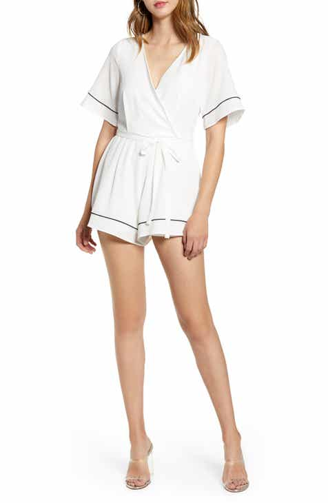 All Things Mochi Gala Embroidered Romper by ALL THINGS MOCHI