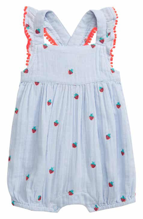 fa08d0cd4a46f Baby Girl Rompers & One-Pieces: Ruffle, Woven & Print | Nordstrom