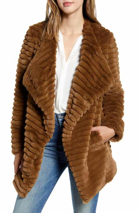 2c1bbc47d BB Dakota What A Girl Wants Faux Fur Coat