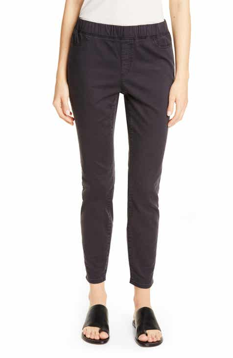 86a66faacc0ae Eileen Fisher Stretch Organic Cotton Denim Skinny Pants (Regular & Petite)