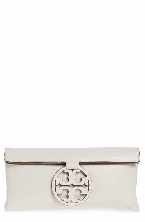 297241b294 Tory Burch Miller Leather Clutch