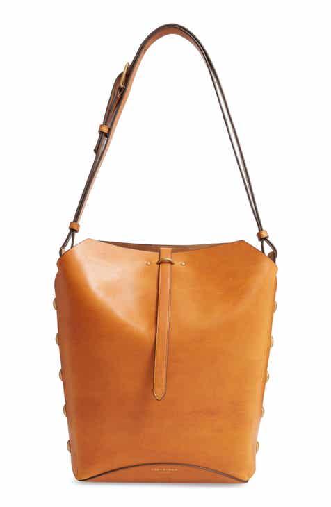 67930103 Tory Burch Rowan Leather Bucket Bag