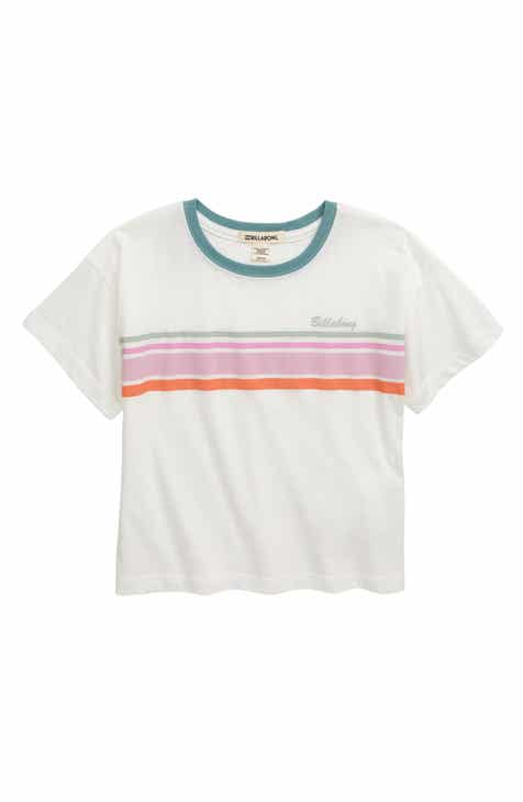 14f57b0c Billabong Seeing Stripes Tee (Little Girls & Big Girls)