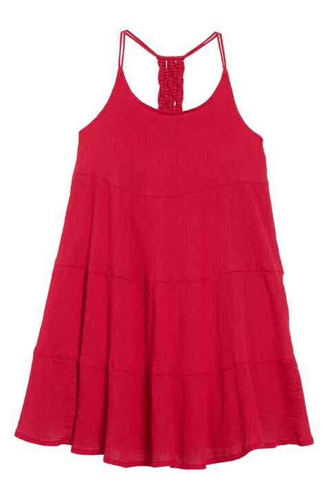def2434ef262 Tucker + Tate Macrame Tiered Dress (Big Girls)