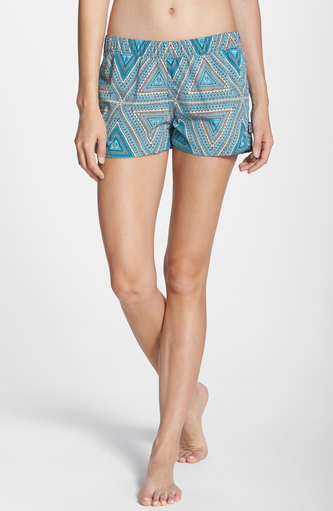 'Barely Baggies' Shorts,                             Main thumbnail 1, color,                             Bermuda: Curacao