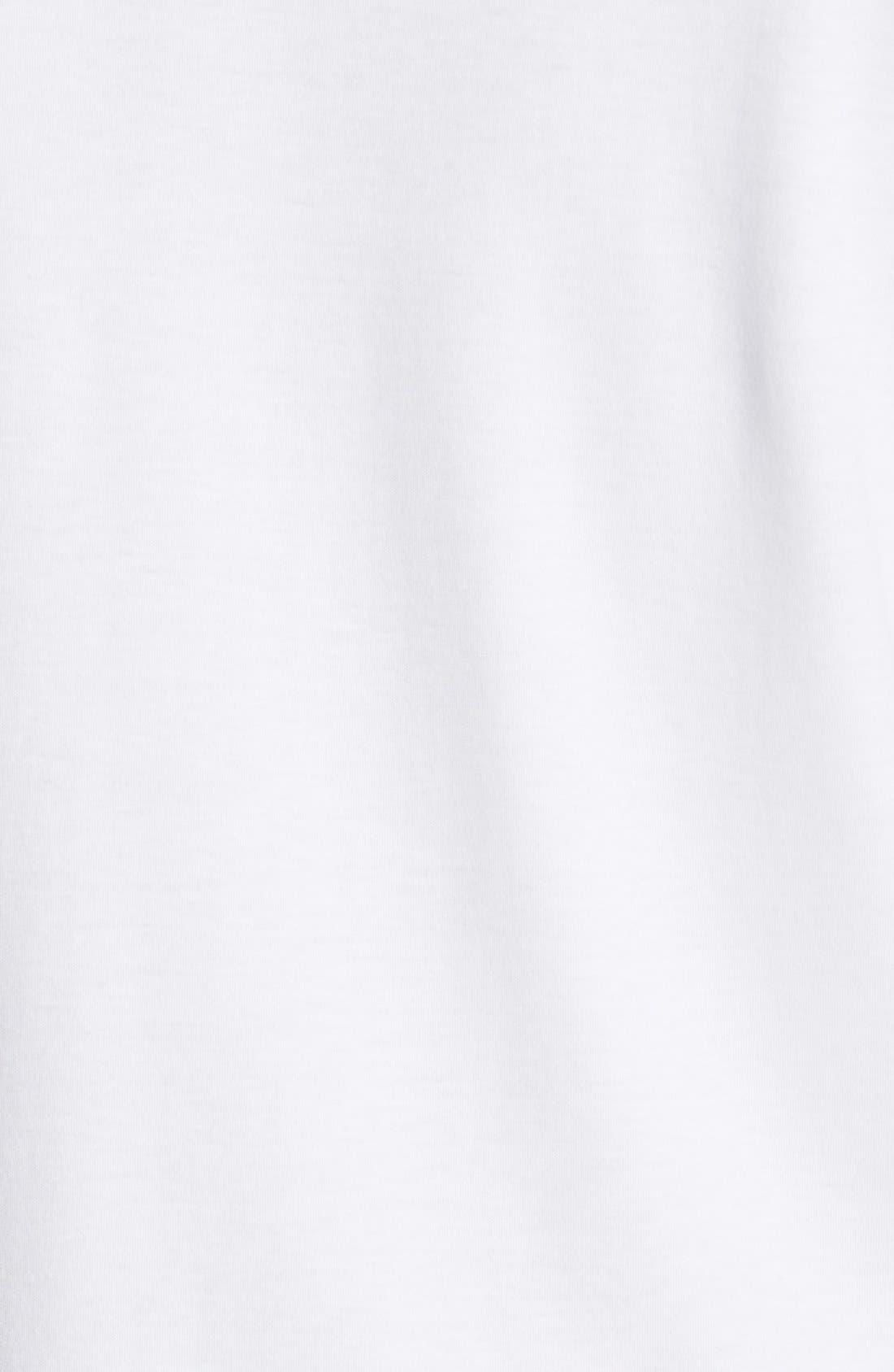 'Belfair' Pima Cotton Polo,                             Alternate thumbnail 3, color,                             White