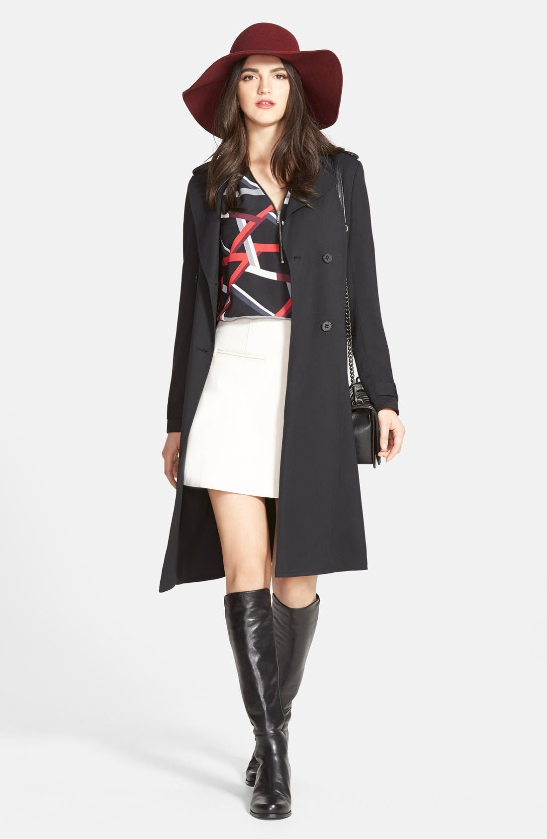 Alternate Image 2  - Trouvé Belted Trench Coat