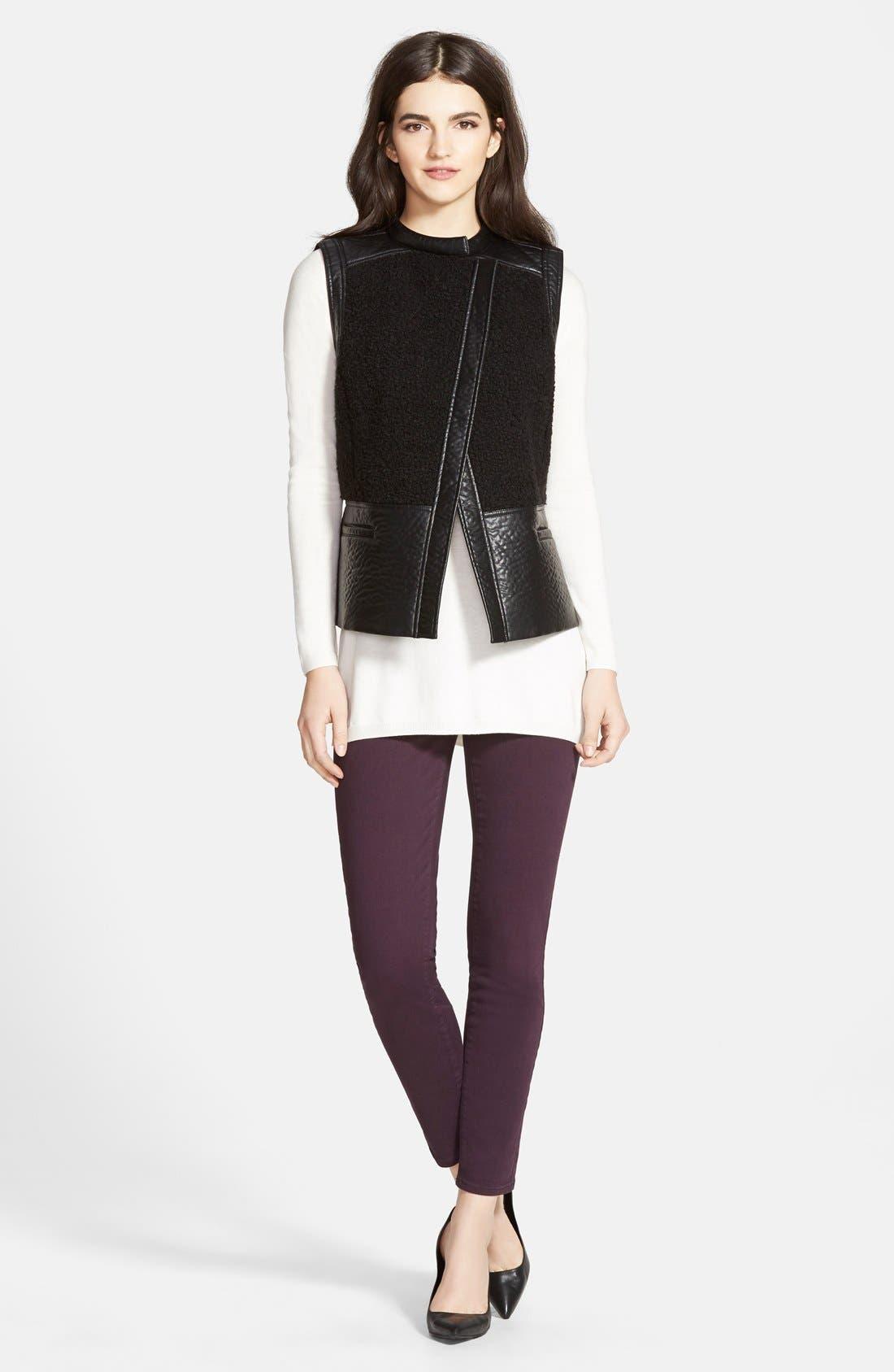 Alternate Image 4  - Paige Denim 'Verdugo' Ankle Skinny Jeans (Autumn Plum) (Nordstrom Exclusive)
