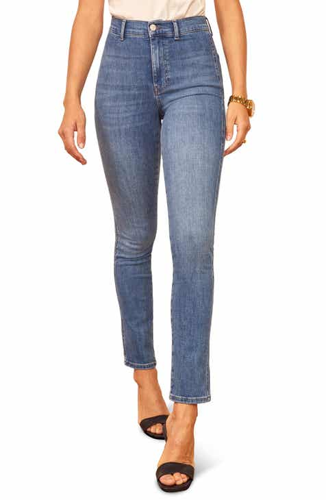Reformation May High & Skinny Jeans