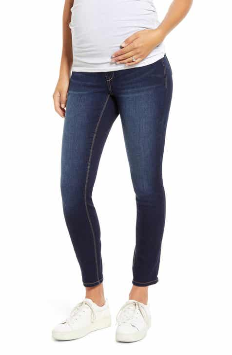 1822 Denim Re:Denim Ankle Skinny Maternity Jeans
