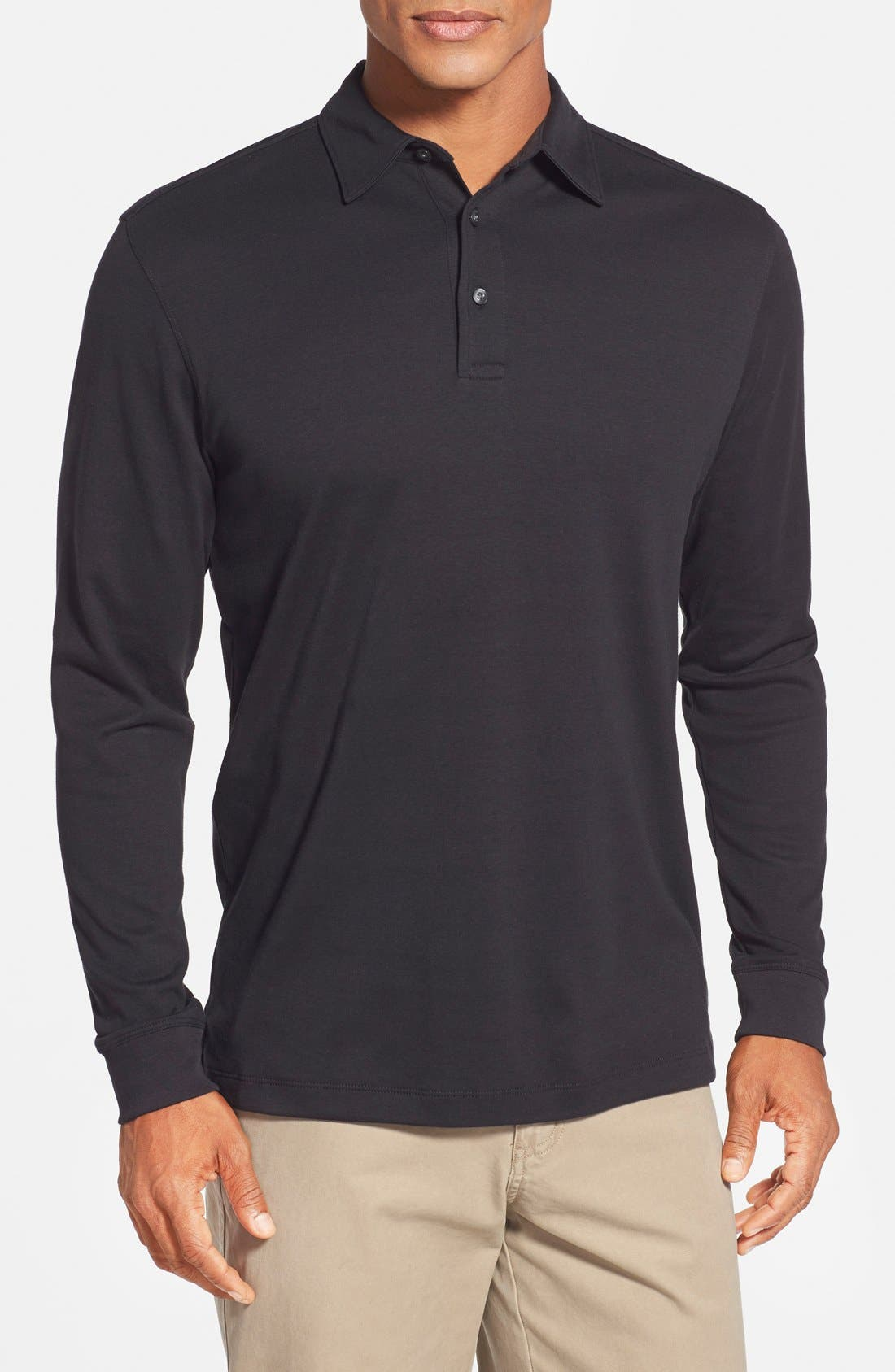 Alternate Image 1 Selected - Cutter & Buck 'Belfair' Pima Cotton Polo (Online Only)