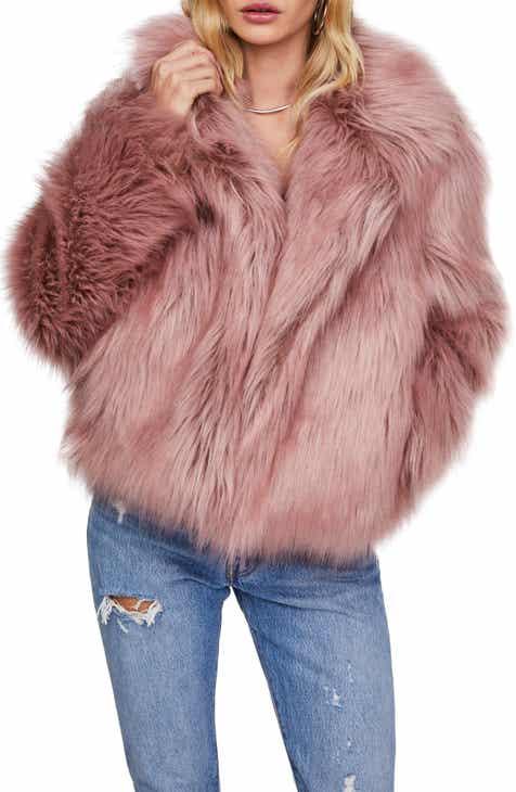 ASTR the Label Adair Faux Fur Jacket