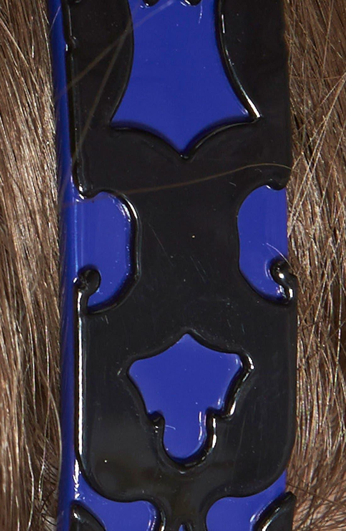 Alternate Image 2  - L. Erickson 'Layered Lace' Headband