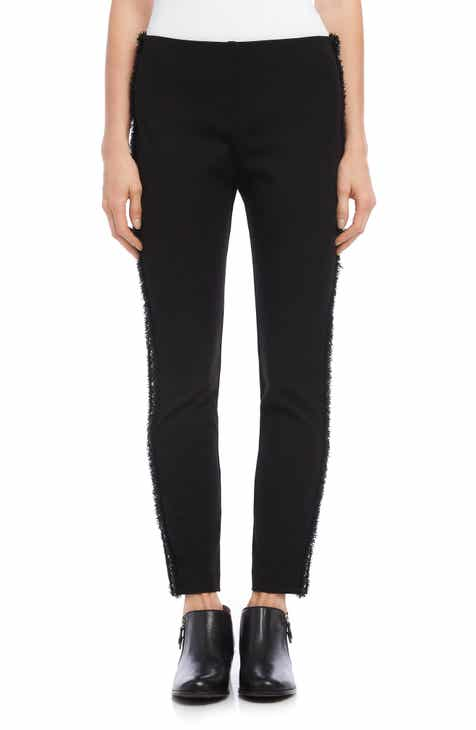 Karen Kane Piper Braid Trim Ankle Skinny Pants