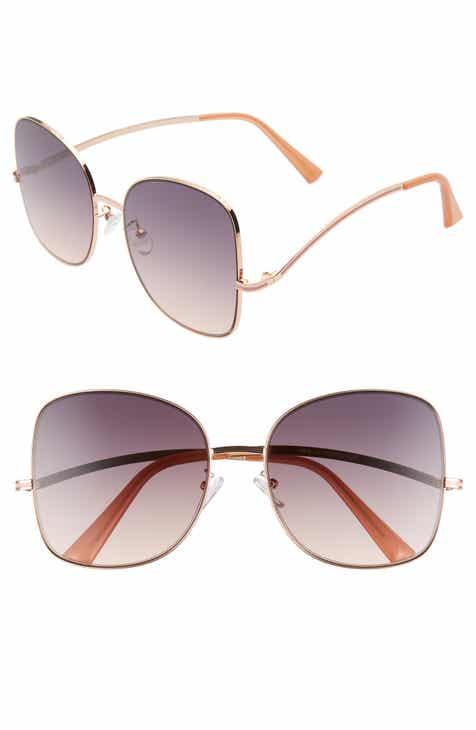 BP. 58mm Gradient Butterfly Sunglasses